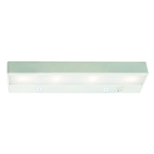 WAC Lighting Wac Lighting White 12-Inch LED Linear Light BA-LED4-WT