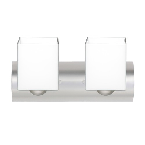 Besa Lighting Besa Lighting Rise Satin Nickel LED Bathroom Light 2WZ-449807-LED-SN
