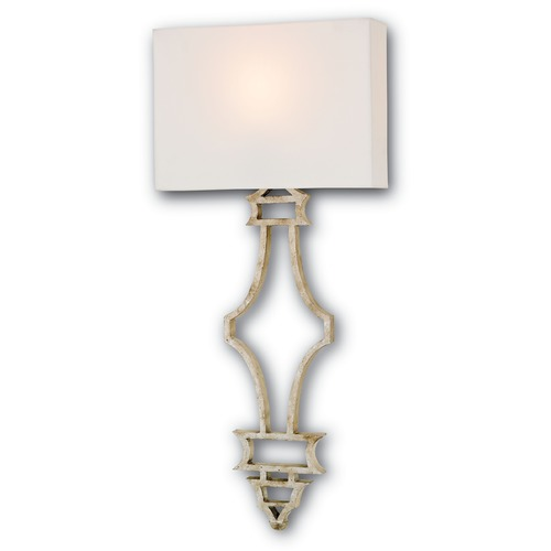 Currey and Company Lighting Currey and Company Lighting Eternity Silver Granello Sconce 5173