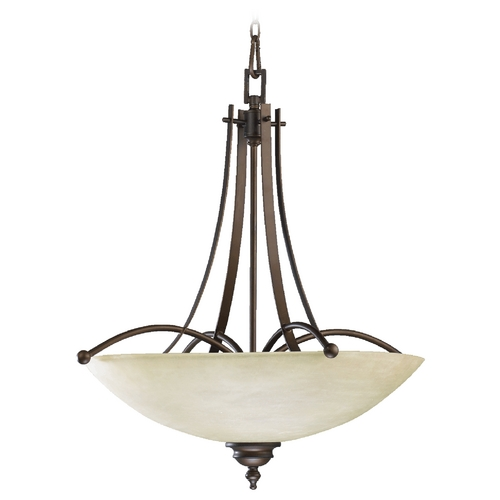 Quorum Lighting Quorum Lighting Aspen Oiled Bronze Pendant Light 8177-5-86