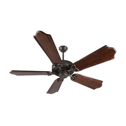 Craftmade Lighting Craftmade Lighting American Tradition Aged Bronze Textured Ceiling Fan Without Light K10816