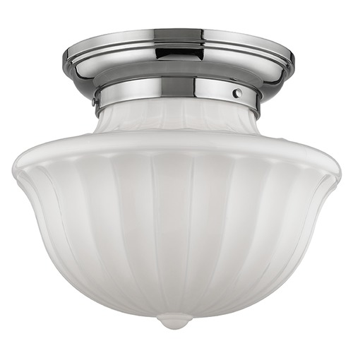 Hudson Valley Lighting Dutchess 2 Light Semi-Flushmount Light - Polished Nickel 5015F-PN