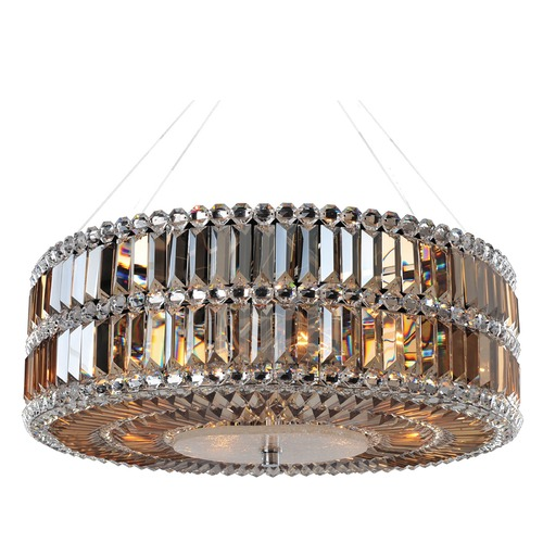 Allegri Lighting Luxor 24in Round Pendant 11741-010-FR005