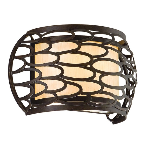 Corbett Lighting Corbett Lighting Cesto Modern Silver Sconce 127-11