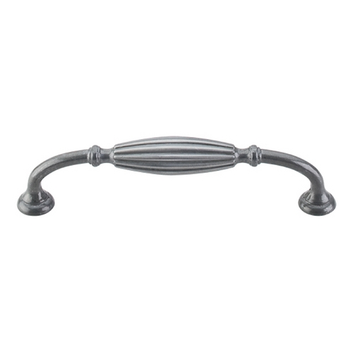 Top Knobs Hardware Cabinet Pull in Pewter Light Finish M147