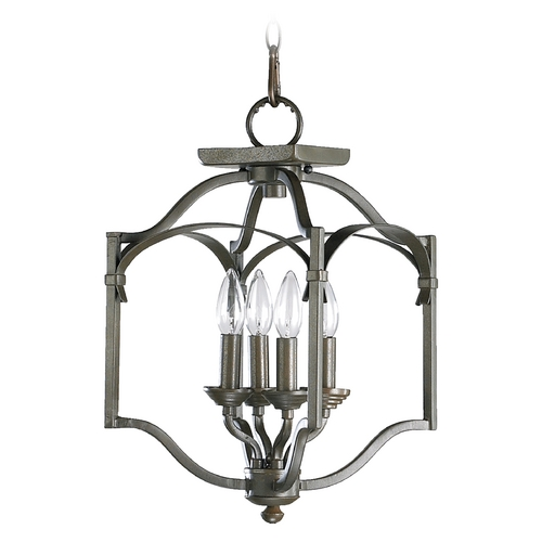Quorum Lighting Quorum Lighting Atwood Oiled Bronze Pendant Light 6796-4-86