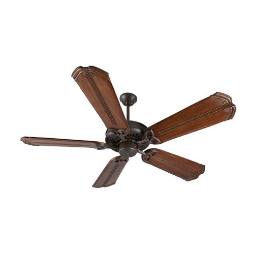 Craftmade Lighting Craftmade Lighting American Tradition Aged Bronze Textured Ceiling Fan Without Light K10817