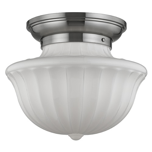 Hudson Valley Lighting Dutchess 2 Light Semi-Flushmount Light - Satin Nickel 5015F-SN