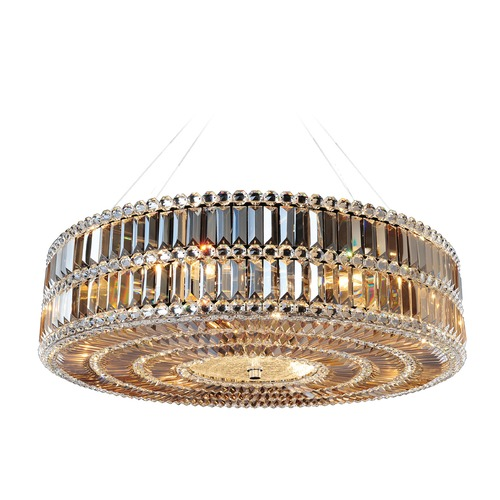 Allegri Lighting Luxor 32in Round Pendant 11742-010-FR005