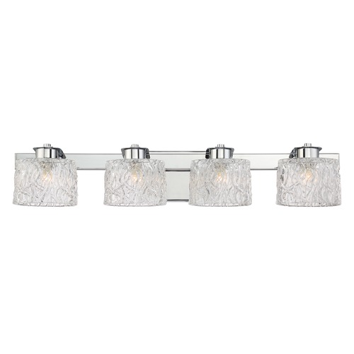 Quoizel Lighting Quoizel Lighting Platinum Collection Seaview Polished Chrome Bathroom Light PCSW8604CLED