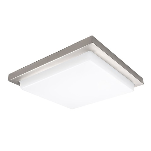 WAC Lighting Wac Lighting Metro Brushed Nickel LED Flushmount Light FM-180112-30-BN