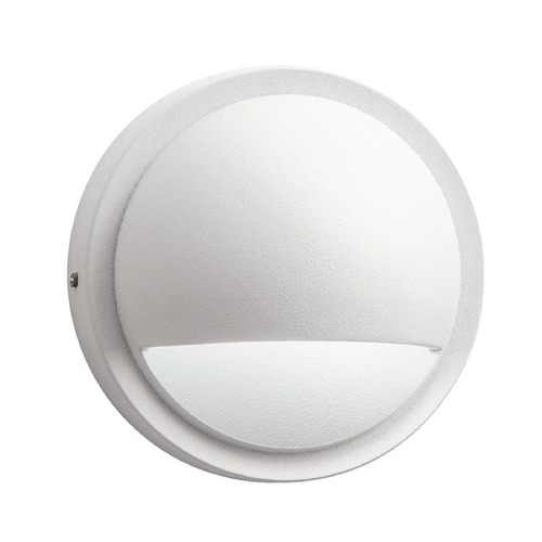 Kichler Lighting Kichler Deck Light with White Glass in Textured White Finish 15064WHT