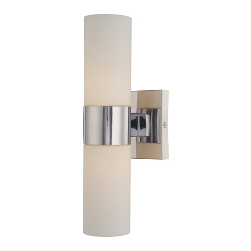 Minka Lavery Chrome Bathroom Light - Vertical or Horizontal Mounting 6212-77