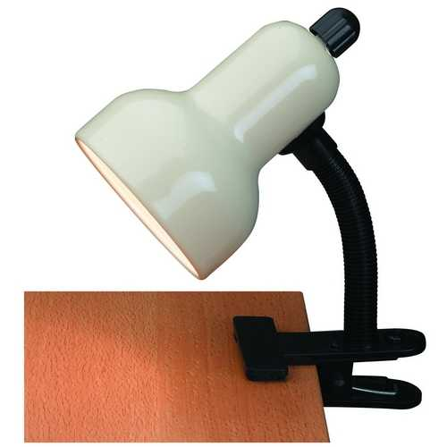 Lite Source Lighting Lite Source Lighting Clip-On Black Clamp Desk Lamp LSF-111IVY