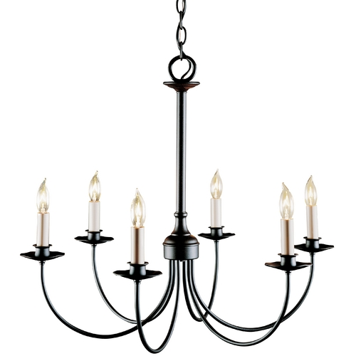 Hubbardton Forge Lighting Six-Light Chandelier 107060-03