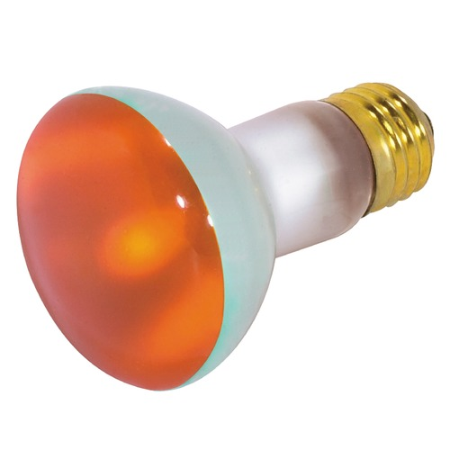 Satco Lighting Incandescent R20 Light Bulb Medium Base 130V by Satco S3203
