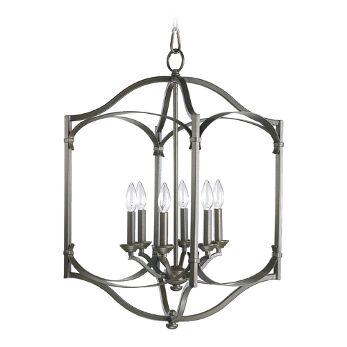 Quorum Lighting Quorum Lighting Atwood Oiled Bronze Pendant Light 6796-6-86