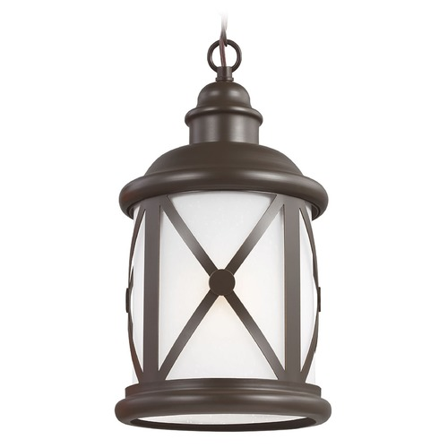 Sea Gull Lighting Sea Gull Lighting Lakeview Antique Bronze Outdoor Hanging Light 6221401BLE-71