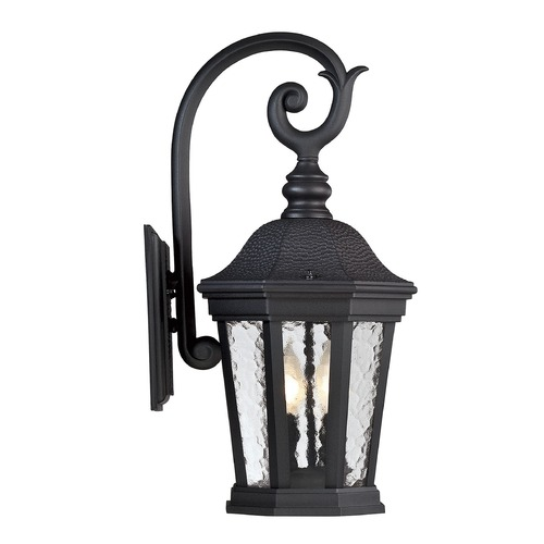 Savoy House Savoy House Lighting Hampden Black Outdoor Wall Light 5-5081-BK