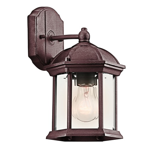 Kichler Lighting Kichler Lighting Barrie Tannery Bronze LED Outdoor Wall Light 49183TZL16