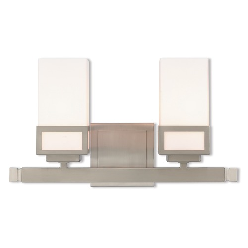 Livex Lighting Livex Lighting Harding Brushed Nickel Bathroom Light 10082-91
