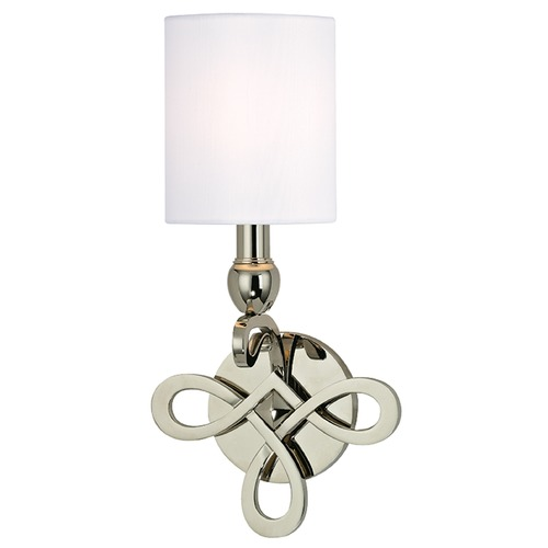 Hudson Valley Lighting Pawling 1 Light Sconce - Polished Nickel 7211-PN