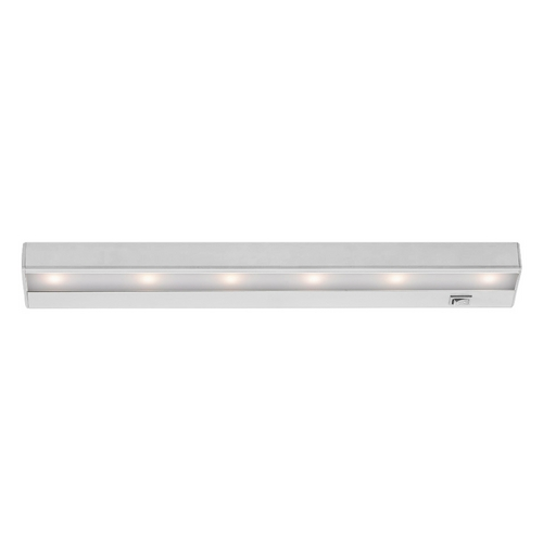 WAC Lighting 18-Inch LED Under Cabinet Light Direct-Wire / Plug-In 3000K 120V White by WAC Lighting BA-LED6-WT