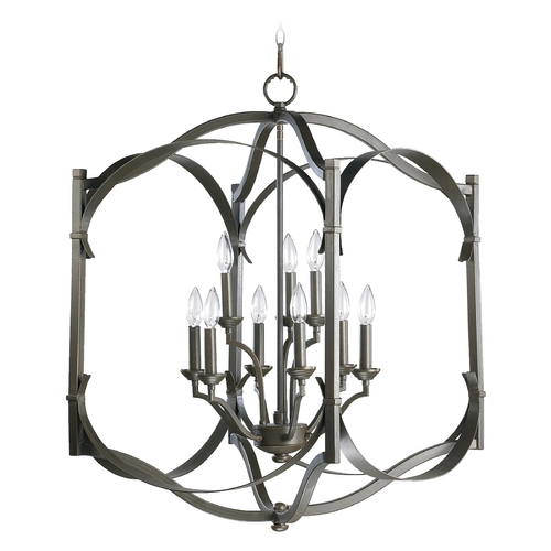 Quorum Lighting Quorum Lighting Atwood Oiled Bronze Pendant Light 6796-9-86