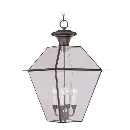 Livex Lighting Livex Lighting Westover Bronze Outdoor Hanging Light 2387-07
