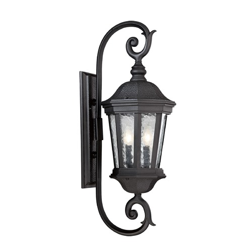 Savoy House Savoy House Lighting Hampden Black Outdoor Wall Light 5-5082-BK