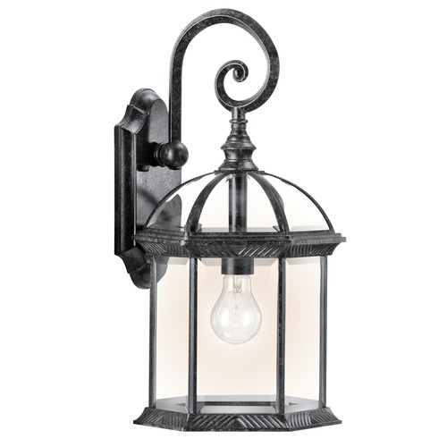 Kichler Lighting Kichler Lighting Barrie Black LED Outdoor Wall Light 49186BKL16