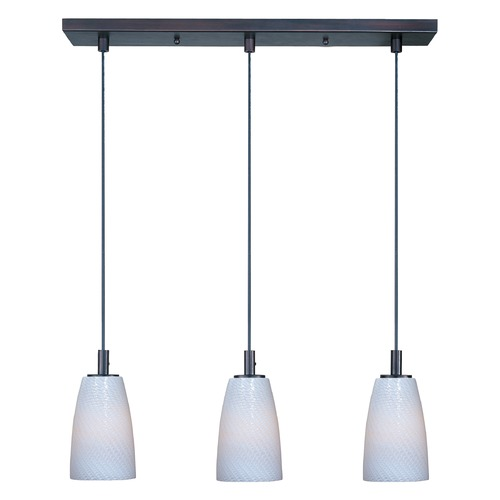 ET2 Lighting Carte Bronze Multi-Light Pendant with Bowl / Dome Shade E92043-13BZ