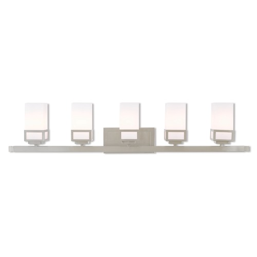 Livex Lighting Livex Lighting Harding Brushed Nickel Bathroom Light 10085-91
