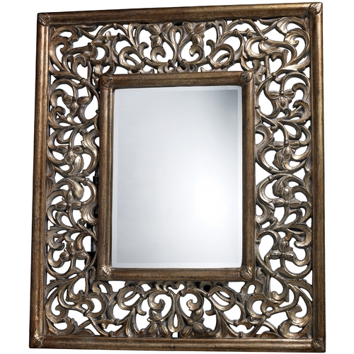 Sterling Lighting Webster Rectangle 33.3-Inch Mirror DM1924