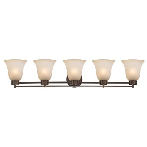 Design Classics Lighting Bronze Bathroom Light 706-220 GL9222-CAR