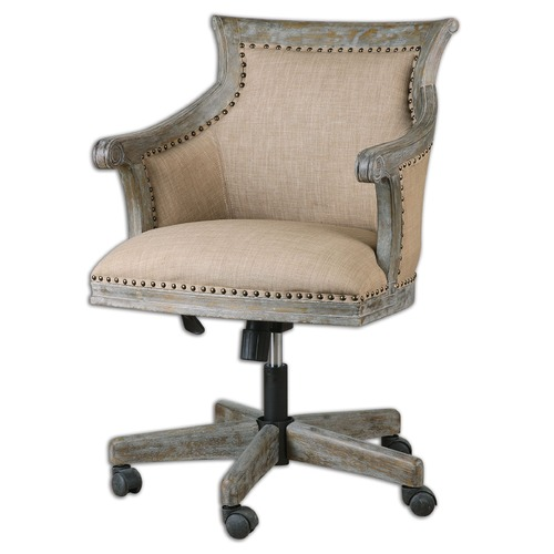 Uttermost Lighting Uttermost Kimalina Linen Accent Chair 23175