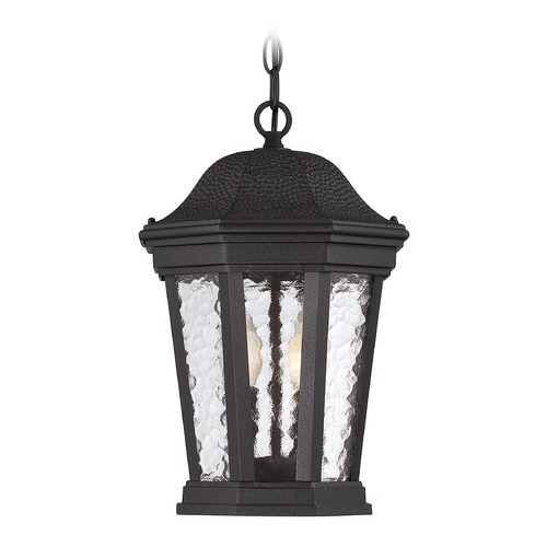 Savoy House Savoy House Lighting Hampden Black Outdoor Hanging Light 5-5084-BK