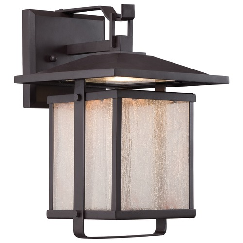 Minka Lavery Minka Lighting Hillsdale Dorian Bronze LED Outdoor Wall Light 8161-615B-L