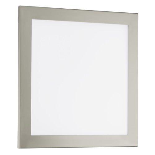 Eglo Lighting Eglo Auruga LED Matte Nickel LED Flushmount Light 91684A