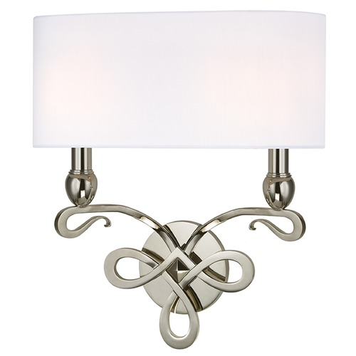 Hudson Valley Lighting Pawling 2 Light Sconce - Polished Nickel 7212-PN