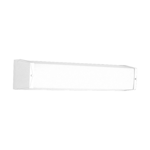 Progress Lighting Progress Sconce Wall Light with White in White Finish P7128-30EB