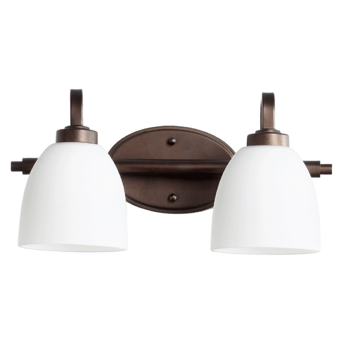 Quorum Lighting Quorum Lighting Reyes Oiled Bronze Bathroom Light 5060-2-86