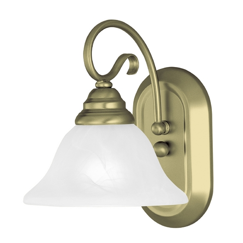 Livex Lighting Livex Lighting Coronado Antique Brass Sconce 6101-01