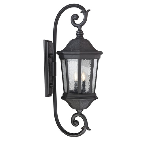 Savoy House Savoy House Lighting Hampden Black Outdoor Wall Light 5-5085-BK