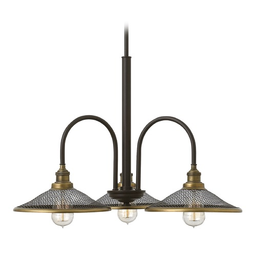 Hinkley Lighting Hinkley Lighting Rigby Buckeye Bronze Chandelier 4363KZ