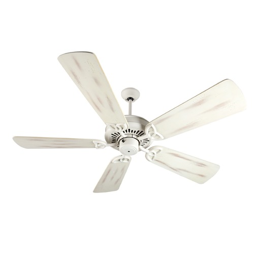 Craftmade Lighting Craftmade Lighting American Tradition Antique White Ceiling Fan Without Light K10822