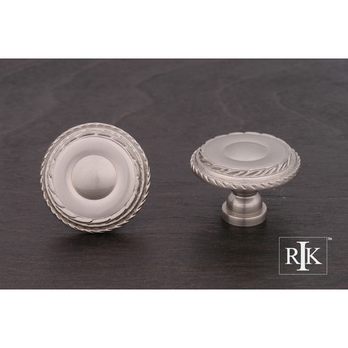 RK International Large Double Roped Edge Knob CK705P