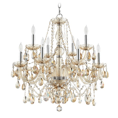 Quorum Lighting Quorum Lighting Bohemian Katerina Chrome Chandelier 630-12-614