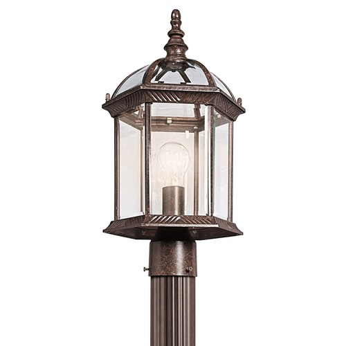 Kichler Lighting Kichler Lighting Barrie Tannery Bronze LED Post Light 49187TZL16