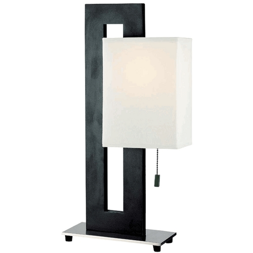 Lite Source Lighting 20-1/2-Inch Rectangular Table Lamp LS-2837
